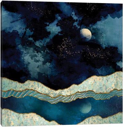 Indigo Sky Canvas Art Print