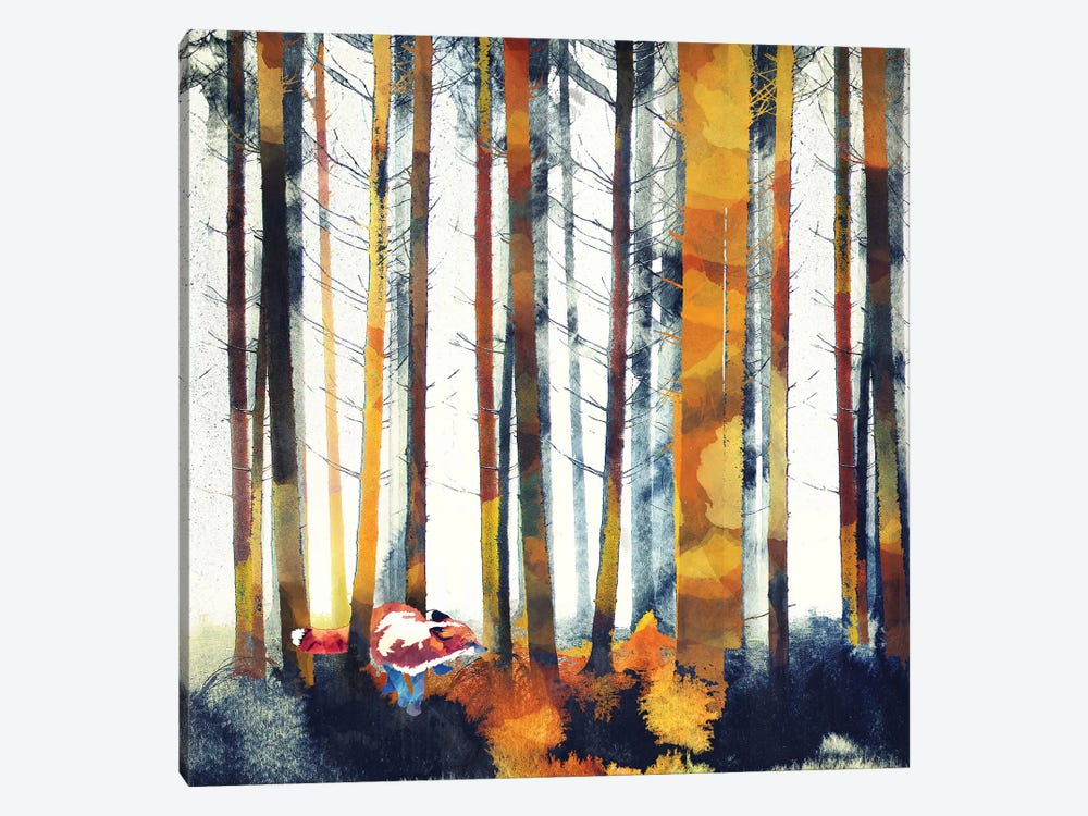 Autumn Hunt by SpaceFrog Designs 1-piece Canvas Wall Art