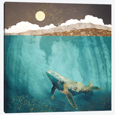 Light Beneath Canvas Print #SFD62} by SpaceFrog Designs Canvas Print