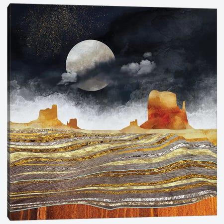 Metallic Desert Canvas Print #SFD65} by SpaceFrog Designs Canvas Art