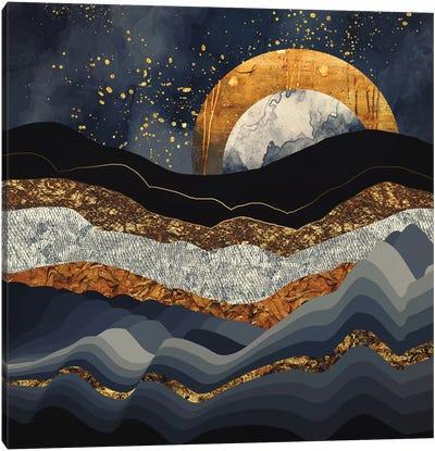 Metallic Mountains Canvas Art Print