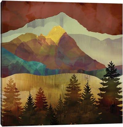 Autumn Trees Canvas Art Print