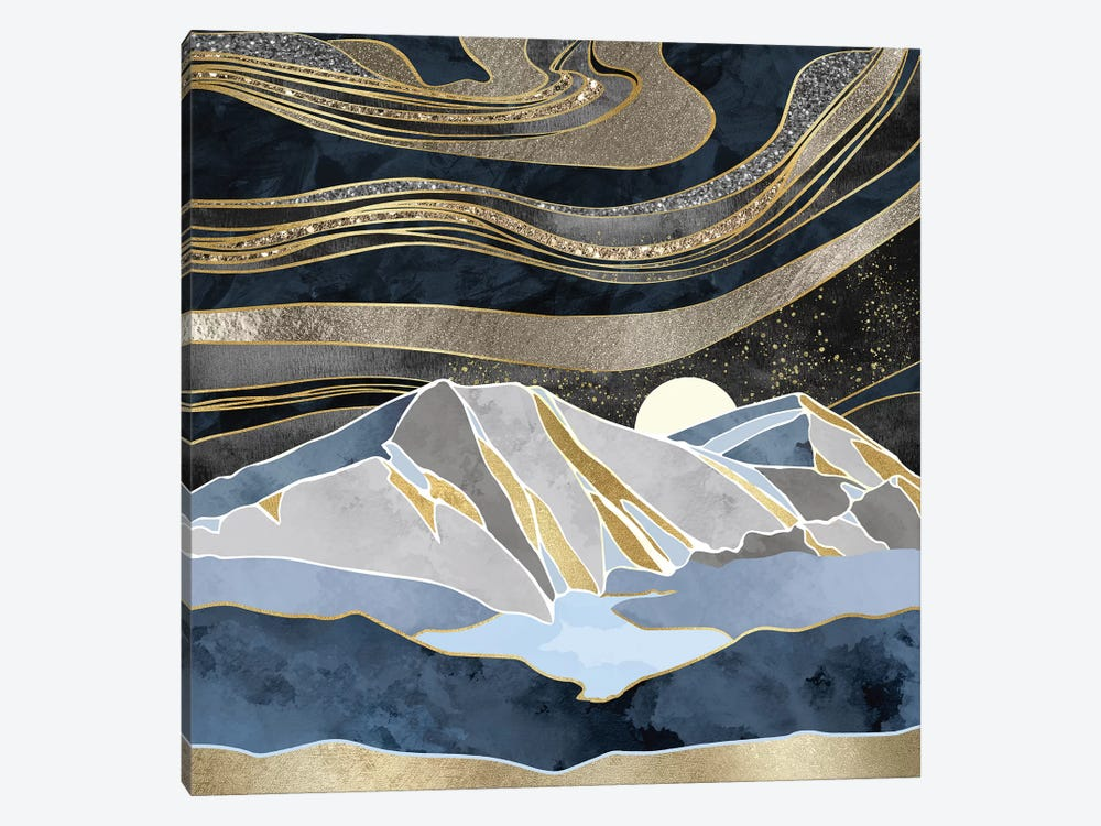 Metallic Sky by SpaceFrog Designs 1-piece Canvas Art Print