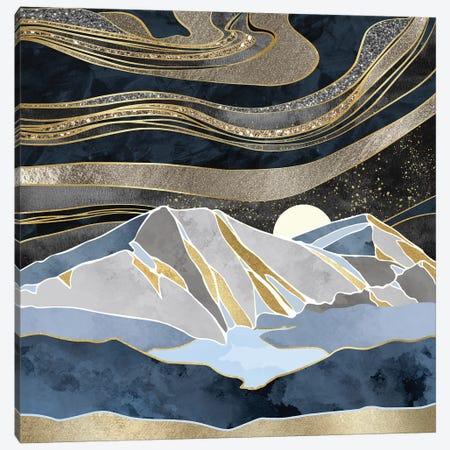 Metallic Sky Canvas Print #SFD71} by SpaceFrog Designs Canvas Artwork