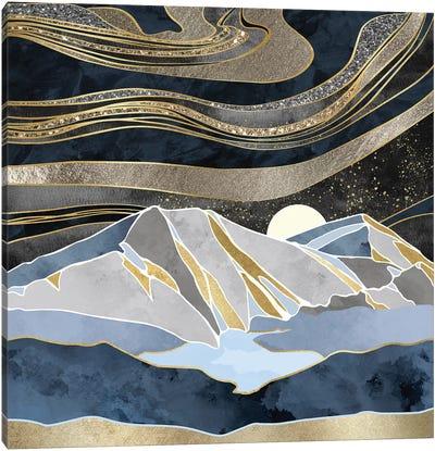 Metallic Sky Canvas Art Print