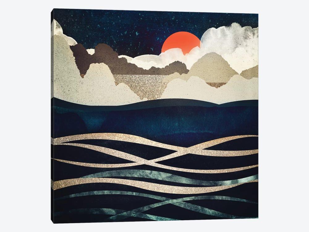 Midnight Beach by SpaceFrog Designs 1-piece Canvas Art Print