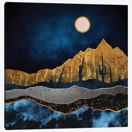 Midnight Desert Canvas Print #SFD74} by SpaceFrog Designs Canvas Print