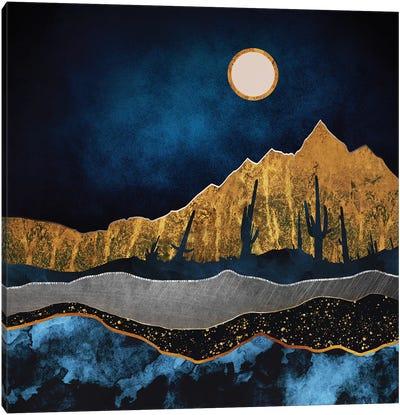 Midnight Desert Canvas Art Print