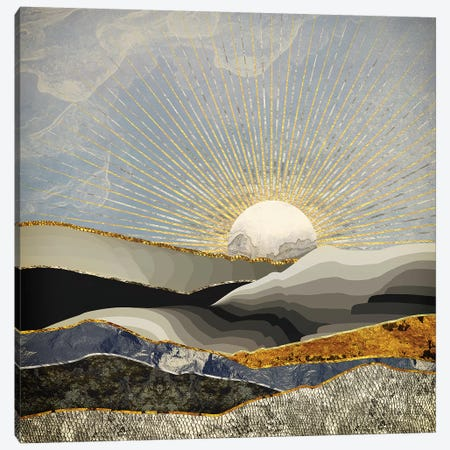 Morning Sun Canvas Print #SFD80} by SpaceFrog Designs Art Print