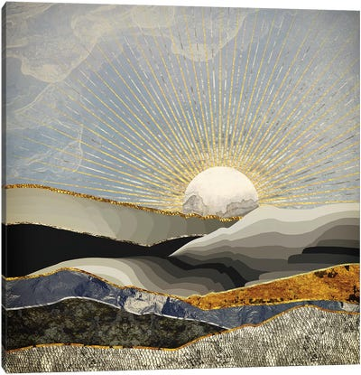 Morning Sun Canvas Art Print