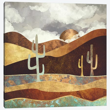 Patina Desert Canvas Print #SFD84} by SpaceFrog Designs Canvas Art