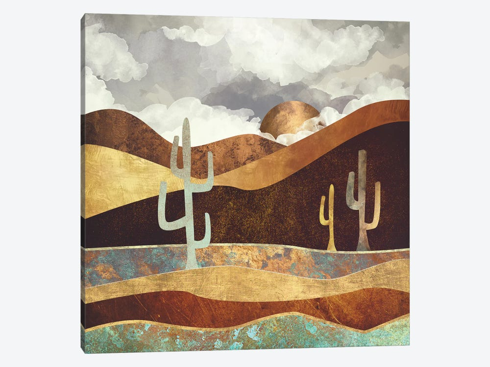 Patina Desert by SpaceFrog Designs 1-piece Canvas Art Print