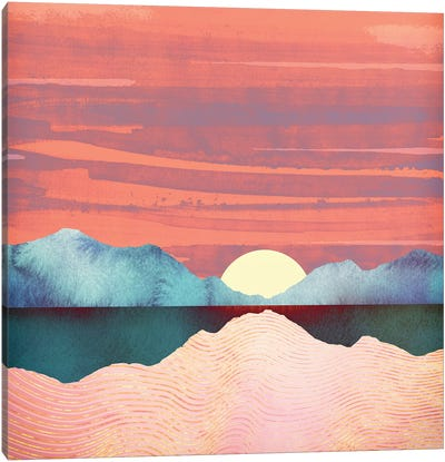 Pink Oasis Canvas Art Print