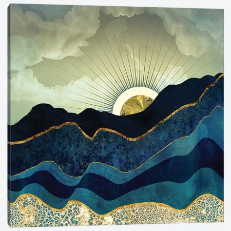 Post Eclipse Canvas Print #SFD87} by SpaceFrog Designs Canvas Artwork