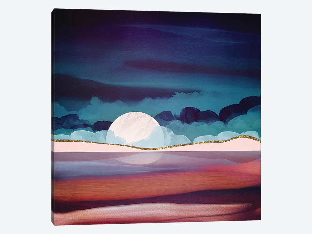 Red Sea by SpaceFrog Designs 1-piece Canvas Artwork