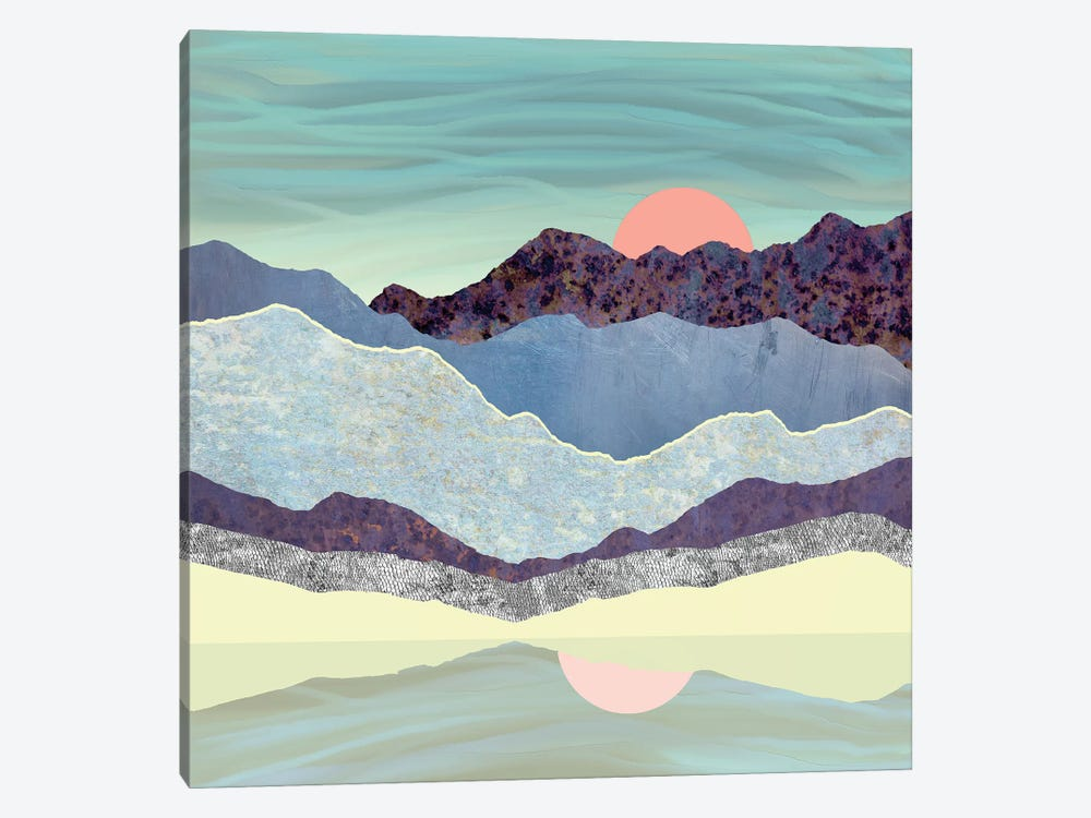 Summer Dawn by SpaceFrog Designs 1-piece Canvas Wall Art