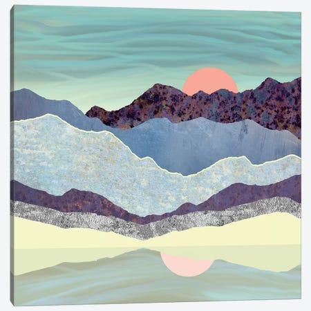 Summer Dawn Canvas Print #SFD98} by SpaceFrog Designs Canvas Wall Art