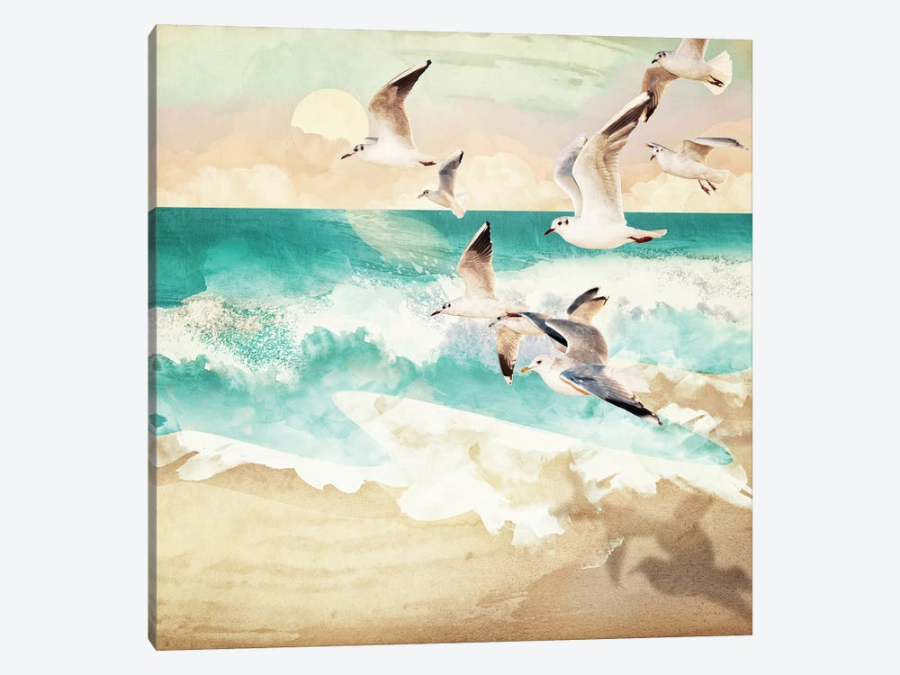 Summer Flight by SpaceFrog Designs 1-piece Canvas Art Print