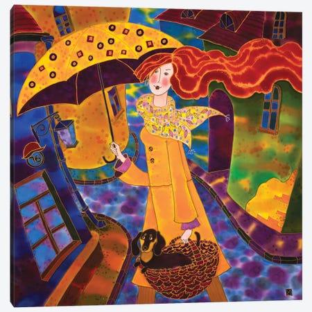 Joyful Day Canvas Print #SFI107} by Sidorov Fine Art Canvas Wall Art