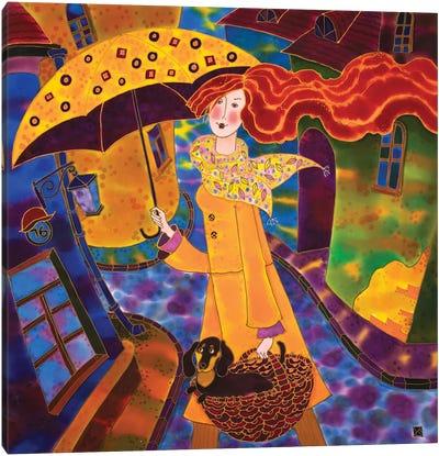 Joyful Day Canvas Art Print