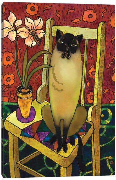 Golden Whiskers Canvas Art Print