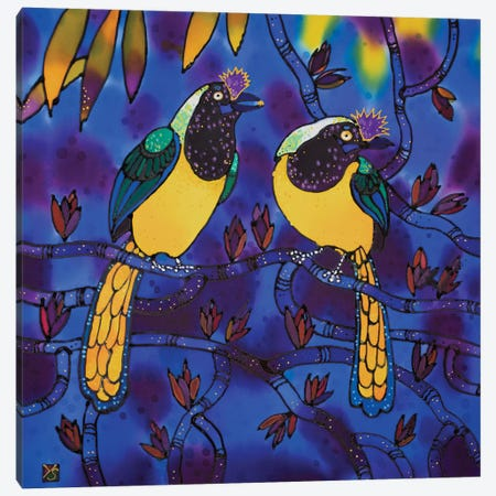 Love Birds Canvas Print #SFI21} by Sidorov Fine Art Canvas Artwork