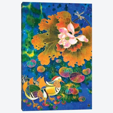 Mandarin Darker Canvas Print #SFI22} by Sidorov Fine Art Canvas Artwork