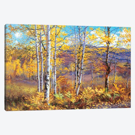Rustic Autumn Canvas Print #SFI32} by Sidorov Fine Art Art Print