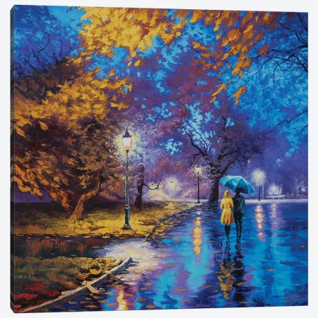 Serene Stroll 3-Piece Canvas #SFI33} by Sidorov Fine Art Canvas Art Print