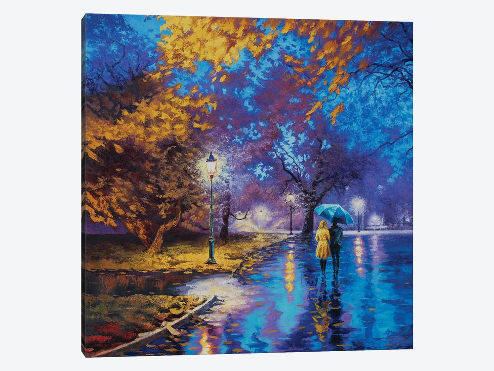 Serene Stroll by Sidorov Fine Art 1-piece Canvas Artwork