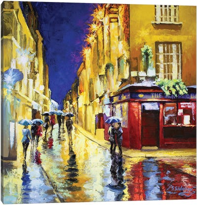 The Temple Bar Dublin Ireland Canvas Art Print