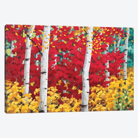 Blissfull Fall Canvas Print #SFI52} by Sidorov Fine Art Canvas Print