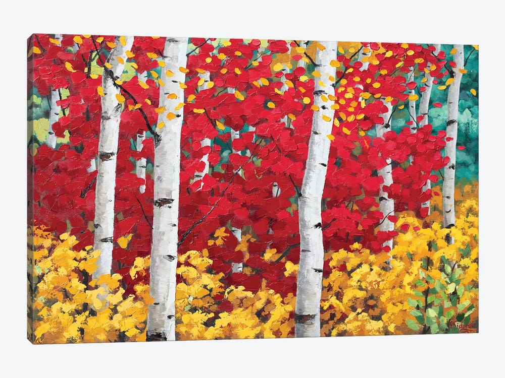 Blissfull Fall by Sidorov Fine Art 1-piece Canvas Print