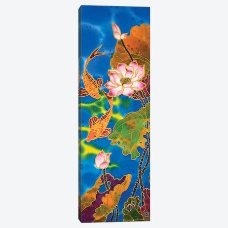 Gold Fishes Canvas Print #SFI72} by Sidorov Fine Art Canvas Art Print