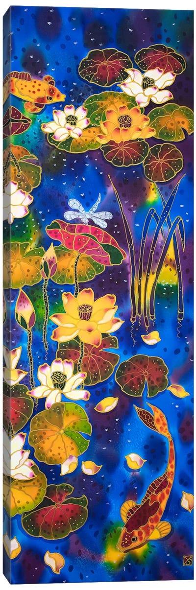 Koi Meditation Canvas Art Print