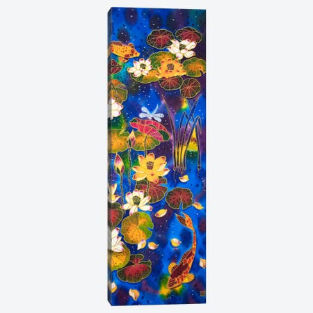 Koi Meditation Canvas Print #SFI74} by Sidorov Fine Art Canvas Art