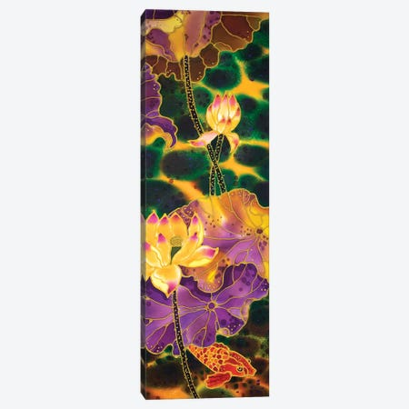 Lotus Pond Canvas Print #SFI75} by Sidorov Fine Art Canvas Wall Art