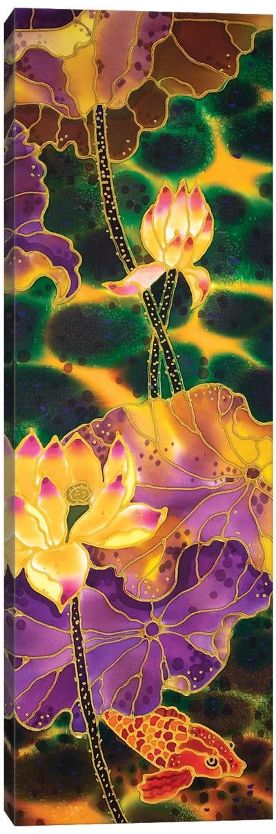 Lotus Pond Canvas Art Print