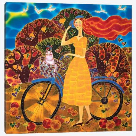 Basket Of Joy Canvas Print #SFI7} by Sidorov Fine Art Canvas Art