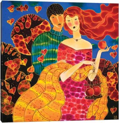 Passion Fruit Canvas Art Print