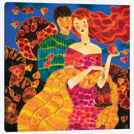 Passion Fruit Canvas Print #SFI87} by Sidorov Fine Art Art Print