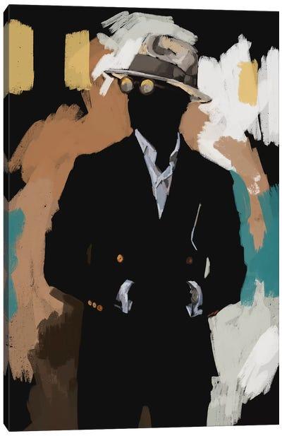 New Suit In Black Canvas Art Print