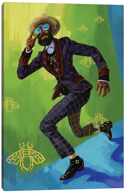 Gucci Man Canvas Art Print