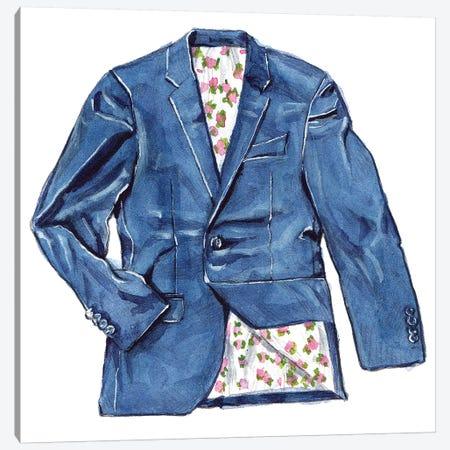 OOTD Tailored Blazer Canvas Print #SFM19} by Sunflowerman Art Print