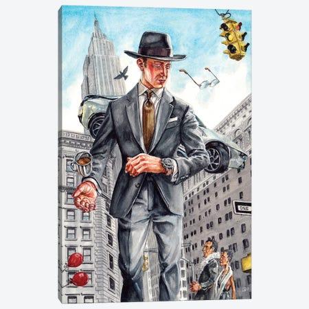 A New York City Symphony Canvas Print #SFM25} by Sunflowerman Canvas Art Print