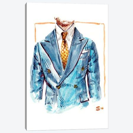 Brunello Cucinelli Chest Canvas Print #SFM26} by Sunflowerman Art Print