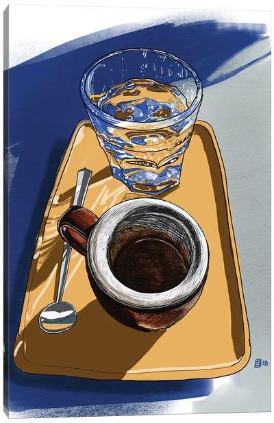 Coffee Folk Canvas Art Print