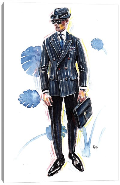 Kiton Man Canvas Art Print