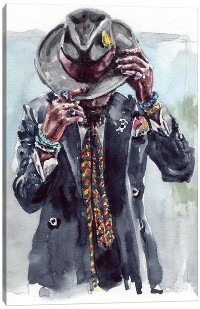 Men's Style III Canvas Art Print