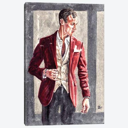 Matthew Canvas Print #SFM47} by Sunflowerman Canvas Print